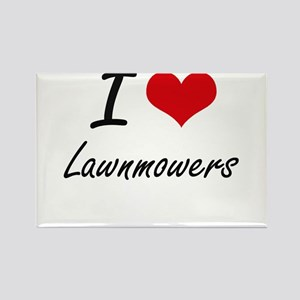 I Love Lawnmowers Magnets